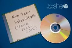 Do a yearly interview with your kids to show how they grow up from year to year.  Create a list of questions and interview them every year on their bday or at New Year's to see them grow!  LOVE THIS IDEA!