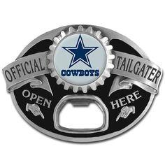 SwampCart - Dallas Cowboys Tailgater Belt Buckle SFB055TG fd3001d31