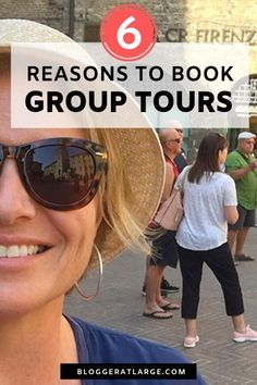 Group travel vs independent travel. Do you have bucket list destinations picked out but are unsure if group travel is for you? In this post I weigh the pros and cons of booking a small group tour versus making your own travel plans. These ideas and tips will help you decide which route to choose. Plus a clever hack if you ARE travelling independently.   #grouptravel #grouptour #travel #traveltips #singletravel #solotravel #guidedtours @bloggeratlarge
