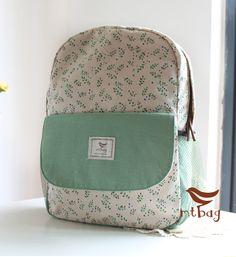 d1c7fc8013fe Light Green Backpack Green Backpacks