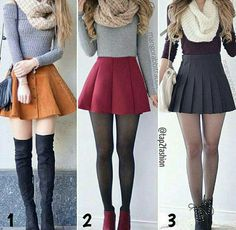 Skirt outfits for winter, date outfits, winter outfits with skirts, outfits for teens Teen Fashion Outfits, Girly Outfits, Cute Fashion, Outfits For Teens, Trendy Outfits, Dress Outfits, Style Fashion, Cute Skirts, Cute Dresses