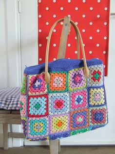 Sweet Granny Bag * Love the Handle :) Hooks and more