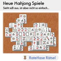 Ursprünglich ist Mahjong ein Spiel für bis zu vier Personen. Weltweit bekannt und beliebt wurde Mahjong durch die Variante für eine Person als Alleinspieler.  Die Mahjong Spiel Steine werden zu unterschiedlichen Figuren in mehreren Lagen aufgebaut.   Neu ist unter anderen unser Mahjong mit der Figur Hase: Sieht süß aus, ist aber nicht so einfach :-)  Am besten gleich mal ausprobieren!