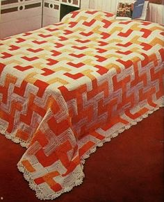 closet for crocheted napkin: مفرش سرير انما جنان.A wonderful crocheted bedsprea...