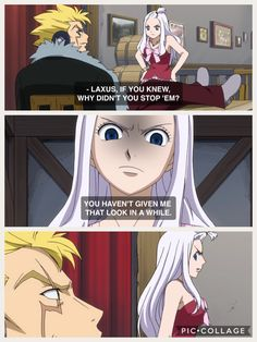 The moment I started to ship Mirajane and Laxus. (Episode 10: The Cursed Island) I think there's something wrong with me.