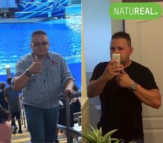 We are thrilled to share Jose's  #weightloss and #beforeandafter picture of #health.   Renew your #health and #whey of life with the #NATUREAL Starter Kit: ▫️Whey Protein ▫️Revert 10.0 ▫️Probiotic  ▫️Body Cleanse ▫️Body Tape Measure ▫️Sports Bottle   #diet #supplements #honduras #plussize #fit #foodie #nutrition #green #caliente #belly #latino  #results #detox #whey #probiotic #fatburner #natural  NATUREAL® | Your Health, Wellness, Weight Loss & Lifestyle Solution   www.natu-real.com
