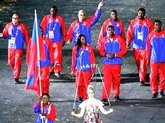 Team Haiti Olympics - Google Search Haiti Soccer, Haiti Flag, Olympic Athletes, Olympic Team, 110m Hurdles, Haiti History, London Olympic Games, Polo Team, Judo