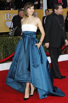 SAG Awards Red Carpet  Marion Cotillard in Dior Haute Couture and Chopard  Photo by Donato Sardella