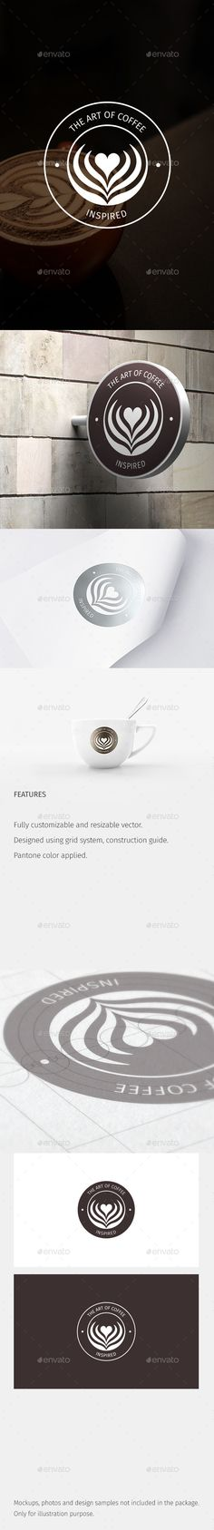 The Art of Coffee Logo Template Vector EPS, AI Illustrator. Download here: http://graphicriver.net/item/the-art-of-coffee-logo/14903257?ref=ksioks