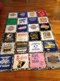 Arkansas Tshirt quilts