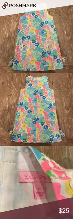 Lilly Pulitzer dress Cute Lilly dress, the color is a little fade and have some stain on it. It might come off if you know how to get rid off it. Lilly Pulitzer Dresses Casual