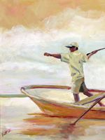 check out this inspiring fishing scene by Meredith Kittrell