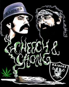 Raider Nation Source by dennyticey Raiders Stuff, Raiders Girl, Oak Raiders, Oakland Raiders Images, Oakland Raiders Football, Angel Devil Tattoo, Raiders Wallpaper, Cheech And Chong, Chicano Art