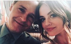 Chad Lowe and Lucy Hale Pretty Little Liars Series, Chad Lowe, Lucy Hale, Kinds Of People, I Am Happy, Updos, Favorite Tv Shows, It Cast, Love You