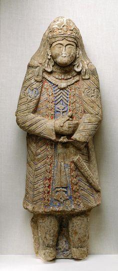 Un guerrier seldjoukide du 11 ou 12 eme siècle