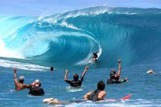 Les premières images du tournage à Tahiti