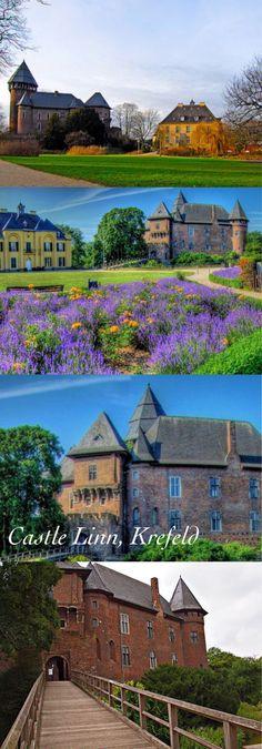 Castle Linn, Krefeld, North Rhine Westphalia, Germany