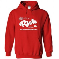 Its a Risk Thing, You Wouldnt Understand !! Name, Hoodi - #white tee #tshirt tank. GET YOURS => https://www.sunfrog.com/Names/Its-a-Risk-Thing-You-Wouldnt-Understand-Name-Hoodie-t-shirt-hoodies-8280-Red-32141551-Hoodie.html?68278