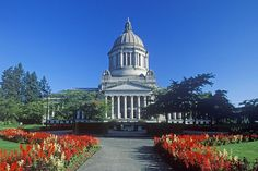 Washington State Capitol building in Olympia.