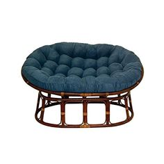 Double Papasan Chair With Microsuede Cushion
