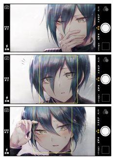 """D-don't do that all of the sudden."" [Shuichi Saihara being cute again] : danganronpa Anime Boys, 5 Anime, Cute Anime Boy, Fanarts Anime, Kawaii Anime, Anime Art, Dark Anime, Danganronpa Memes, Danganronpa Characters"