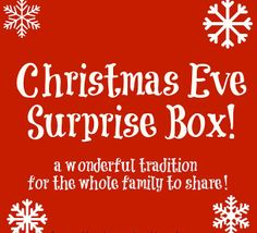 everyday treasures fromThe Domestic Curator: Christmas Eve Party-In-A-Box