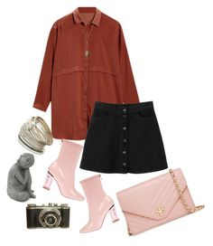 """""""Bohem"""" by aycagungorurler ❤ liked on Polyvore featuring Tory Burch, Panacea, Miss Selfridge, Monki and vintage"""