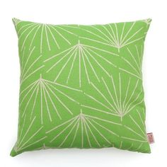 The 'Palmetto' cushion cover in the pistachio colourway by Skinny laMinx is a great design for adding an extra zing to any existing cushion collection. See the full selection of cushion covers in the Skinny laMinx online store.
