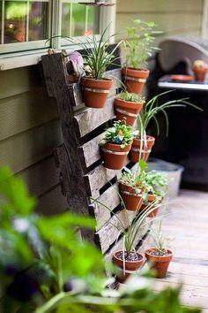 Ideas for small gardens - Balconies32