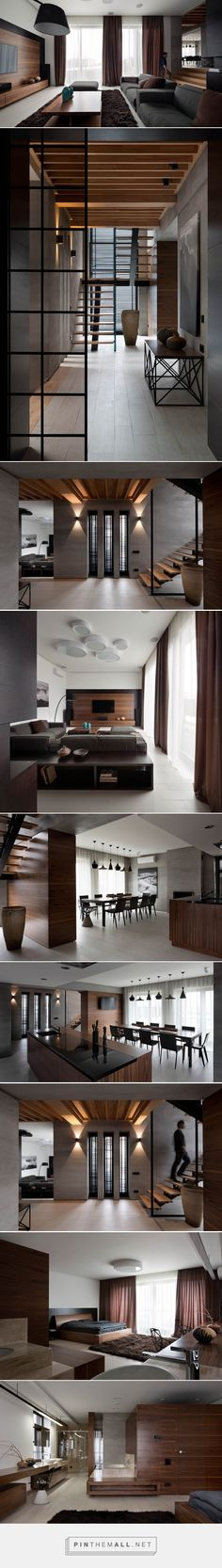 A Palette Of Gray And Walnut Completes The Redesign Of This Family Home | CONTEMPORIST - created via http://pinthemall.net