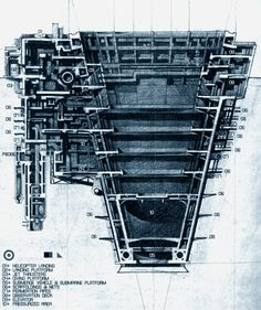 (above) a Living Unit, designed by Masahiko (Mas) Yendo. Mas Yendo thinks of machines and the industrial age that spawned them not so much skeptically, as epically. Machines get old. They break dow… Architecture Graphics, Architecture Student, Architecture Drawings, Architecture Design, Historical Architecture, Section Drawing, Lebbeus Woods, Architectural Section, Architectural Presentation