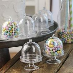 These Miniature Acrylic Cloches are great for creative decorating, gifting, personalizing, and entertaining endeavors, both in your miniature and life-sized worlds!