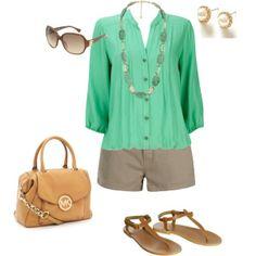 Dress up khaki shorts #Classic design.#Casually Cool!!!#
