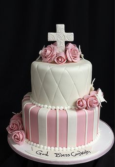 Baptism Confirmation Communion Cake