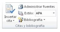 articuloseducativos.es: Crear una bibliografía con Word