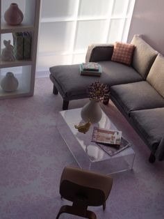 Modern Feminine Living Room | von margaret_loves