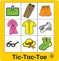 ESL Games-Clothing Tic-Tac-Toe