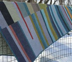 Mid-Century Modern Quilt by quiltsbydesign on Etsy