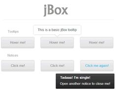 http://stephanwagner.me/jBox  jBox – jQuery Plugin for Popup Windows, Tooltips and Notices