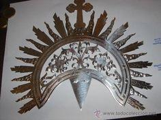 CORONA DE SANTA O IMAGEN RELIGIOSA