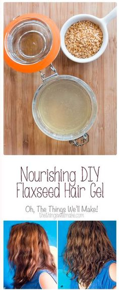 Making your own nourishing DIY flaxseed hair gel with essential oils is easy, and it leaves your hair soft yet manageable. It's best for wavy & curly hair.