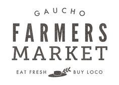 Gaucho Farmers Market Logo by Julia Chen, via Behance
