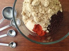 A Great Homemade Meat Rub (This One Uses Coffee!): http://blog.diynetwork.com/maderemade/2014/06/23/a-great-homemade-meat-rub-this-one-uses-coffee/?soc=pinterest