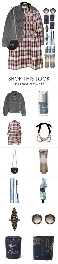 """""""*1840"""" by cutekawaiiandgoodlooking ❤ liked on Polyvore featuring Yeezy by Kanye West, Christian Dior, Peter Jensen, Dolce&Gabbana, Chinese Laundry, Estée Lauder, Aesop, Gucci, Bella Freud and contestentry"""