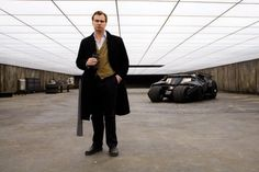 Christopher Nolan in the Bat-Bunker