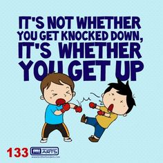 """133: Ahmad Says """"It's not whether you get knocked down, it's whether you get up."""""""