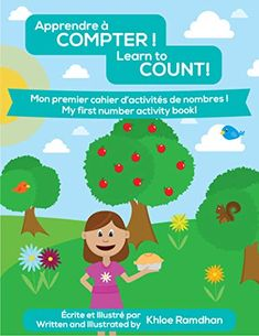 Apprendre à Compter ! Learn to Count!: Mon premier cahier d'activités de nombres ! My first number activity book! - A great french and english book to help teach numbers and counting! Number Activities, Book Activities, Kindergarten Books, Learn To Count, Number One, English, Learning, Names, Studying