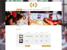 Thème Dekoration   Panier / cart  Woocommerce 2 by sophie rousseau  #webdesign #icon #design #web #responsive #ecommerce #wordpress #woocommerce #siteweb #carousel #ui #ux