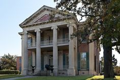 Magnolia Hall in Natchez, Mississippi.  This is where I went to school when I was a little kid.