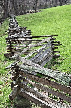 Split Rail Fence by Eric  Krouse, via Dreamstime